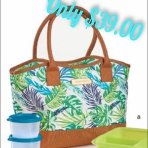 Limited Edition Print Palm Paradise Lunch Set